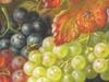 Amalie KÄRCHER - Gemälde - Früchte, Vogelnest, Insekten.