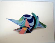 Jean-Claude FARHI - Sculpture-Volume - La composition 8