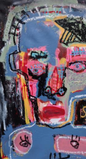 JAZZU - Pittura - Les maux de tête