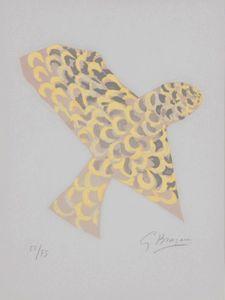 """Georges BRAQUE - Print-Multiple - Le rapace """"Lettera Amorosa"""""""