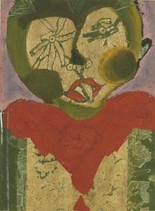 Francisco TOLEDO - Drawing-Watercolor - Tamin ojos estrella