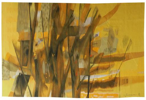 René FUMERON - Tapestry - Composition