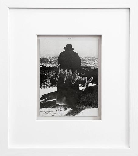 Joseph BEUYS - Grabado - Difesa della natura (Silhouette)