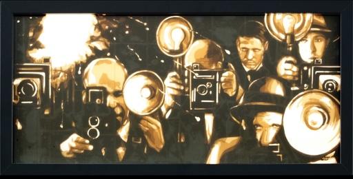 Max ZORN - Pittura - Les paparazis