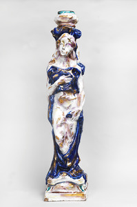 Leoncillo LEONARDI - Céramique - Cariatide