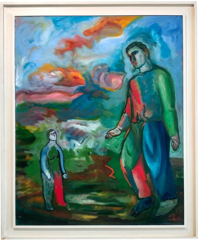 Sandro CHIA - Gemälde - Senza titolo
