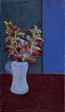 Ottone ROSAI - Painting - bouquet