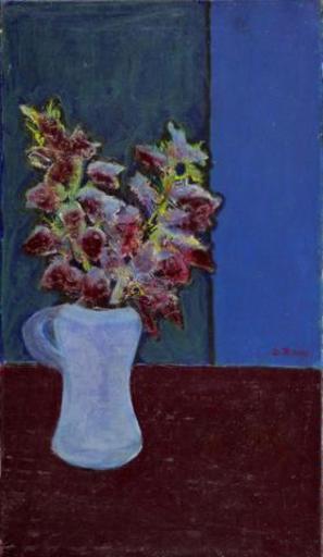 Ottone ROSAI - Peinture - bouquet
