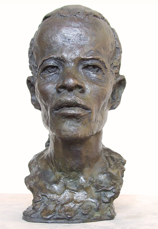 Nacéra KAINOU - 雕塑 - Le Guerrier Massai