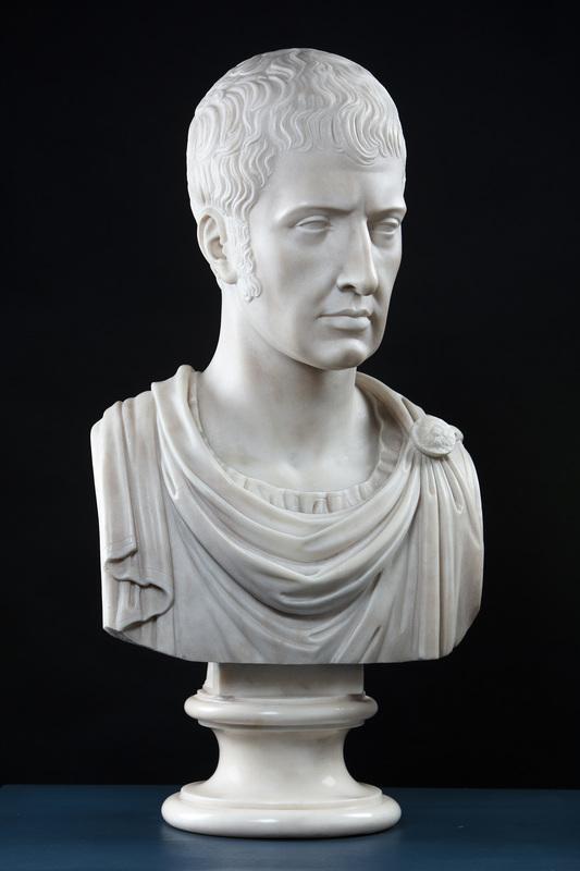Giuseppe PISANI - Escultura - Ritratto di Francesco IV d'Austria Este