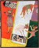 """Véronique WIRBEL - Painting - 'L'ATTRAPEUR D'ARC-EN-CIEL"""""""
