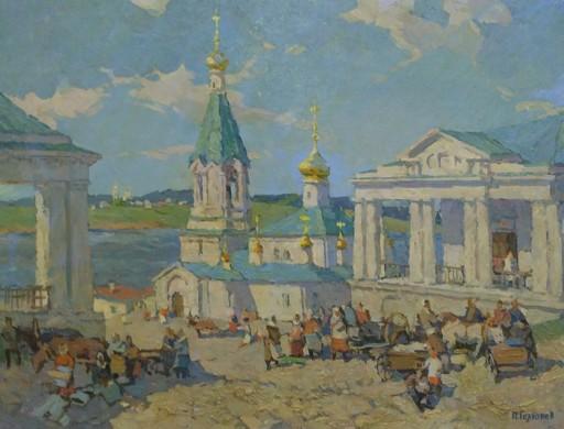Petr Pavlovich GOLYUKOV - Painting - Paisaje
