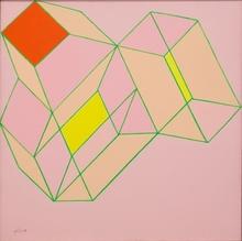 Achille PERILLI - Painting - La nominazione