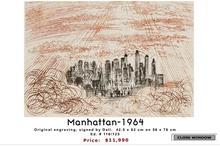 Salvador DALI (1904-1989) - Manhattan