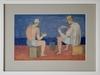 Ivan PETROVSKY - Peinture - Jugando Naipes