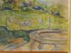 Joseph RAVAISOU - Dibujo Acuarela - Le jardin