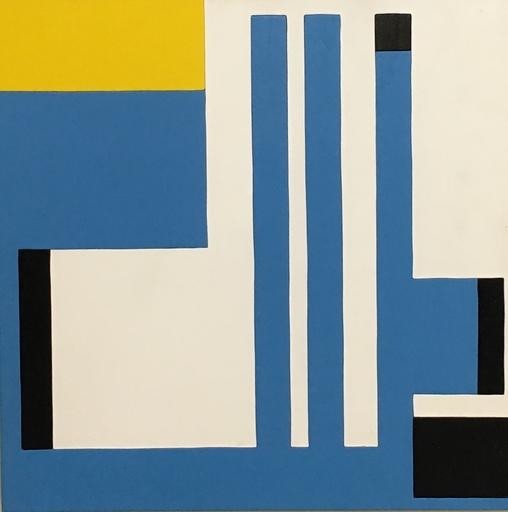 Bruno MUNARI - Painting - Positivo_Negativo