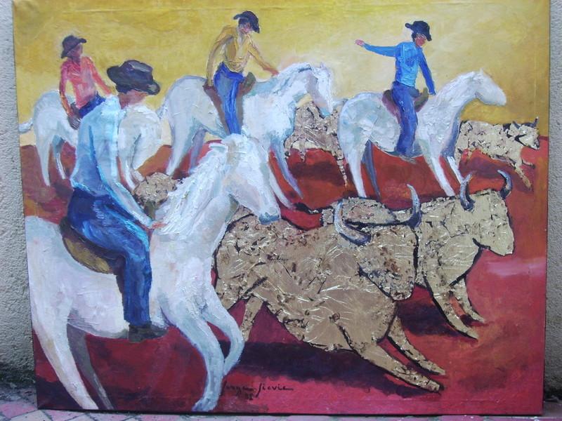 Serge SIEVIC - Peinture - MANADE