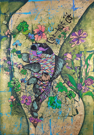 Corine LESCOP - Peinture - Folie printanière