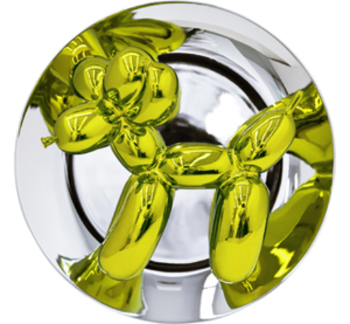 Jeff KOONS - Scultura Volume - Balloon Dog (Yellow)