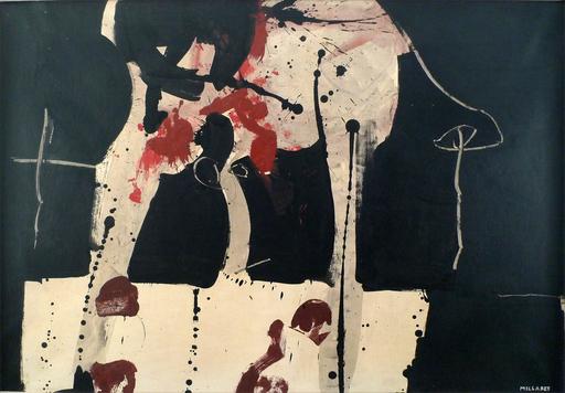 Manolo MILLARES - Gemälde - Untitled, 1963