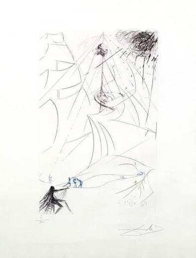 Salvador DALI - Print-Multiple - The Ghost Ship