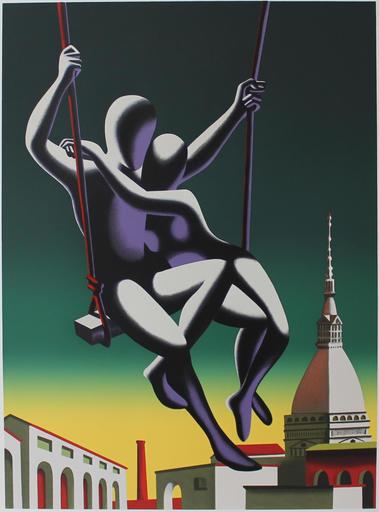 Mark KOSTABI - Stampa-Multiplo - Above the world