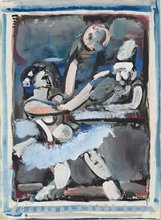 Georges ROUAULT - Painting - Ecuyère et clown