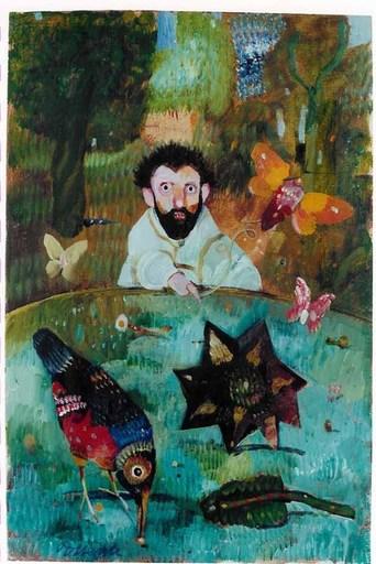 Antonio POSSENTI - Painting - Senza titolo