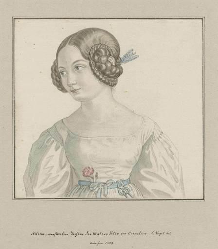 Ludwig VOGEL - Drawing-Watercolor - Helena Cornelius.
