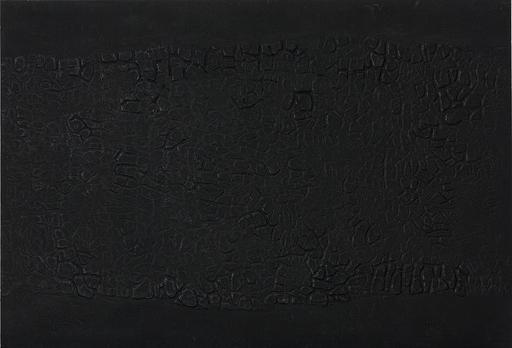 Alberto BURRI - Print-Multiple - Cretto nero