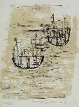ZAO Wou-Ki (1921-2013) - Les petits bateaux