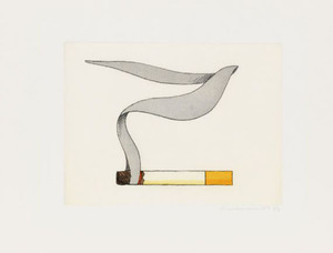Tom WESSELMANN, SMOKING CIGARETTE #2