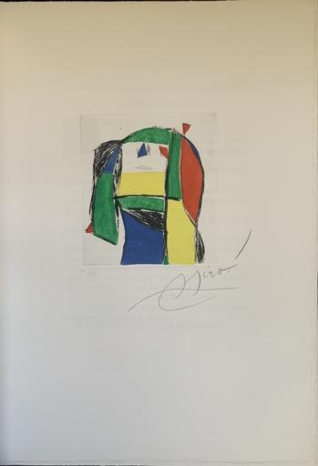 胡安·米罗 - 版画 - Constitucion española aniversario