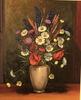 Otto CLÉNIN - Pintura - Fleurs des champs