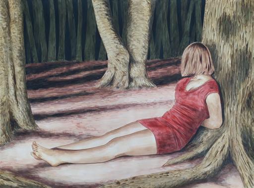 Erlend STEINER LOVISA - Painting - Eline 2    (Cat N° 6349)