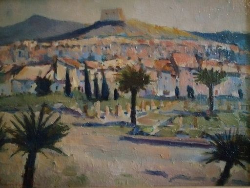 René THUILLIER - Peinture - Vaison la Romaine