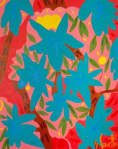 Sébastien COUEFFIC - Painting - Les indiennes 1