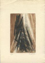 Terry HAASS - Print-Multiple - GRAVURE 1962 SIGNÉE AU CRAYON NUM/60 HANDSIGNED NUMB ETCHING