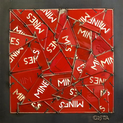 Fernando DA COSTA - Skulptur Volumen - Mines