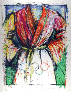 Jim DINE - Stampa Multiplo - Olympic Robe