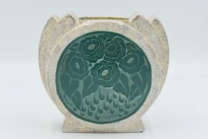 D'Argyl, vase sphérique Art Déco