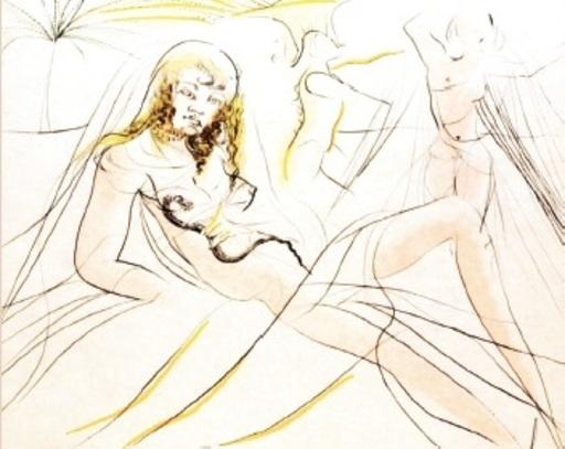 萨尔瓦多·达利 - 版画 - Cleopatra