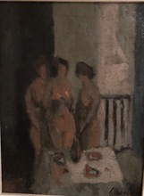 """Carmelo GARCÍA BARRENA - Pintura - """"Tres desnudos"""""""