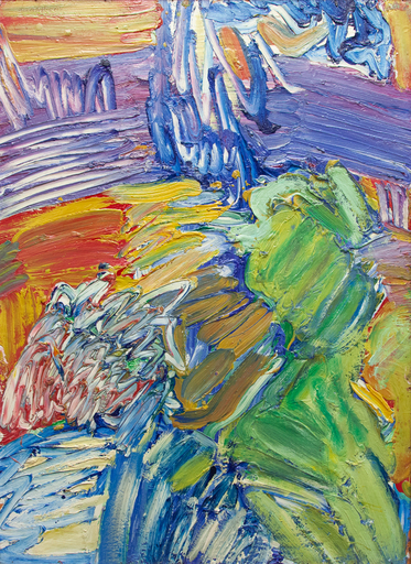 Bengt LINDSTRÖM - Peinture - Composition