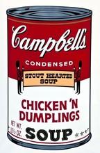 Andy WARHOL (1928-1987) - Campbell's Soup Chicken 'n' Dumplings F&S II.58