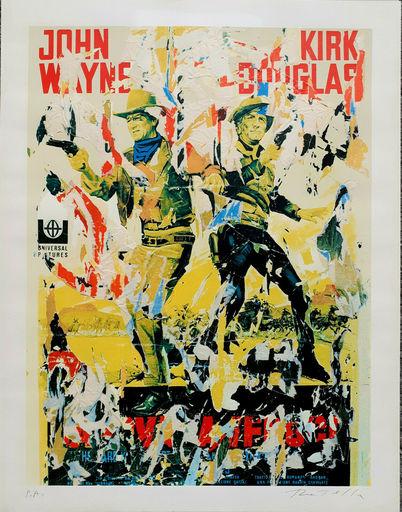 Mimmo ROTELLA - Print-Multiple - John Wayne - Kirk Douglas