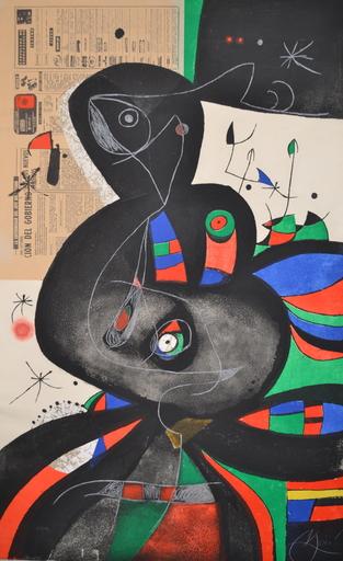 Joan MIRO - Print-Multiple - *Gaudi No.45