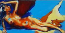 Philippe PAGANI - Peinture - La nueva Pocahontas desnudas