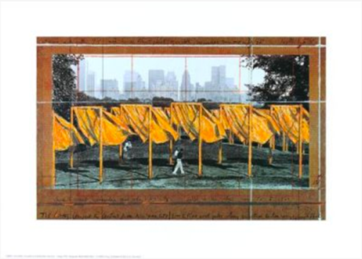 CHRISTO - Print-Multiple - The Gates, (L)